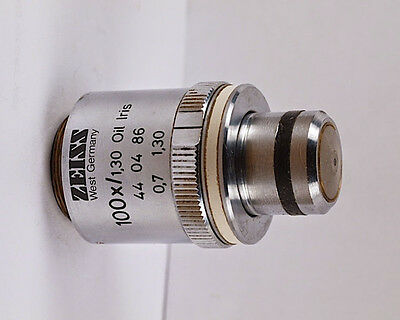 Zeiss Plan-neofluar 100x 1.30 Oil Microscope Objective W Iris