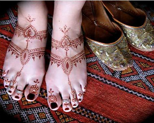 Indian Models $100/hour: Foot/Hand Jewellery