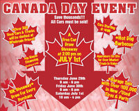 CANADA DAY SALE @ BUY DIRECT TRUCK CENTRE