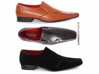 Mens Shoe Italian Fashion Wedding Party Formal Casual Work Office Size 6/12 LENO