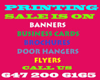 Printing on Sales. FREE Business card. CALL US. Special offer .