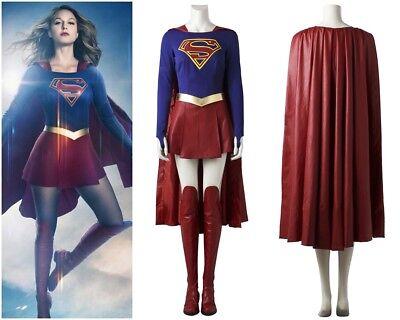 2017 Supergirl Kara Zor El Cosplay - Kara Zor El Kostüm