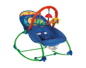 baby bouncer  blue chair