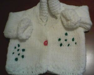 Brand New Baby sweaters and Stroller Blankets for sale