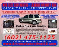 BOOK YOUR AIRPORT RIDE WITH US THEN RENT OUR MID SIZE SUV!