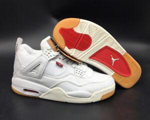 Air Jordan 4 X Levi's White Denim