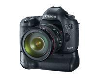 Canon 5D lll 5D3Vertical BatteryGrip holder multipower Brand New