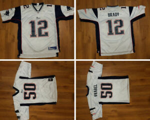 Authentic Brady & Vrabel Jerseys