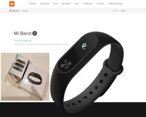 Xiaomi Mi Band 2 One month battery fitness tracker sport sleep