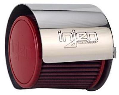 - Injen (HS3500P) Aluminum Air Filter Heat Shield Universal Fits 3.50 Polished