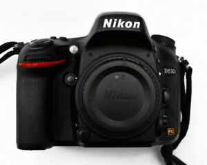 Nikon D610 24.3MP Digital SLR Camera Low Sht/Cnt