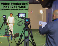 Professional Video Production Services ☎️ (416) 274-1265