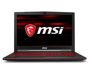 "MSI GL63 8RC-050CA  15.6"" Notebook (i7 Geo 1050) - with receipt"
