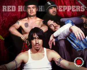Red Hot Chili Peppers Reds/rouges 102 rangee/row 'D' +FLOORS