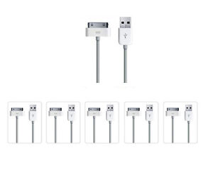 5x-USB-Sync-Data-Charging-Charger-Cable-Cord-for-Apple-iPhone-4-4S-4G-4th-Gen