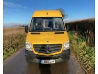 2015 Mercedes-Benz Sprinter 313 CDI LWB PANEL VAN Diesel Manual