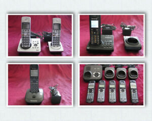 Panasonic & Vtech Cordless Phone Systems 1 to 5 Handsets
