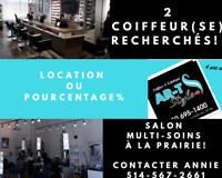 2 Coiffeur/Coiffeuse RECHERCHÉ