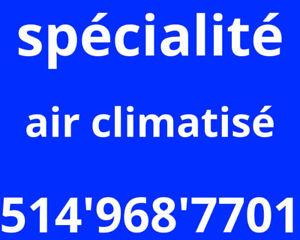 Air conditioner air conditioning repair reparation climatiseur