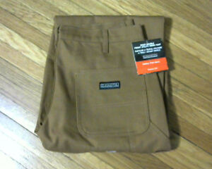 Mens Dakota Duck Double Front Utility Work Pants[new] 34X32