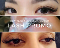NEW YEARS EYELASH EXTENSIONS PROMO