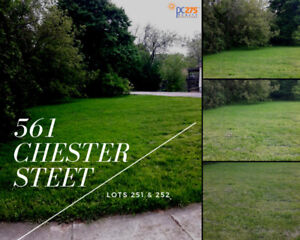 561 Chester Street Lot 251 & 252 – Residential building lots