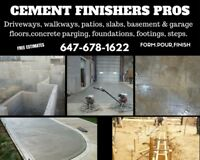 Concrete Finishing, Repairs Parging Grinding Chipping Demolition