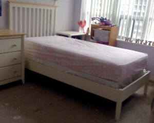 Twin bed and dresser for sale
