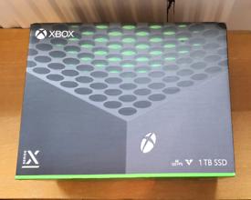 Xbox Series X - Brand New, Unopened