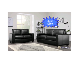 BRAND NEW 3+2 LEATHER SOFA SET FAST DELIVERY NATIONWIDE