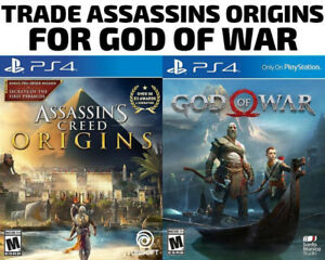 TRADE PS4 Assassins Creed Origins for God Of War (or others)