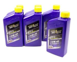 ROYAL PURPLE 36140 10w40 HPS Multi-Grade Oil Case 6x1 Quart