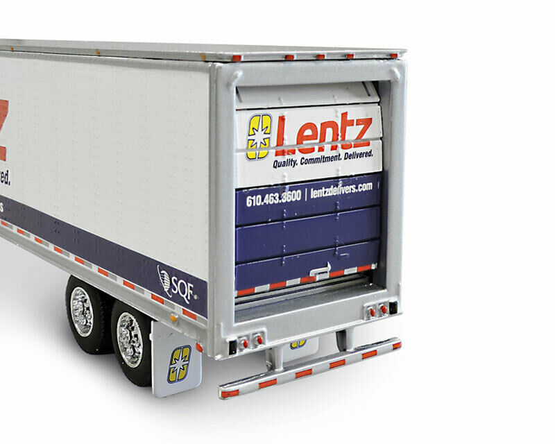 1/64 DCP Lentz - Freightliner Cascadia Evolution Day Cab with 53' Refrigerated T 2