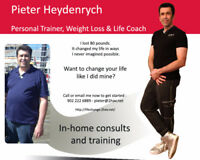 In Home Personal Trainer and Healthy Eating Coach