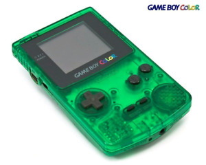 Gameboy color console retro pokemon gbc game boy color