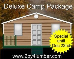 Deluxe Cottage / Camp Package mi
