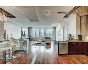 Fully Furnished Luxury Old Montreal Condo for Rent