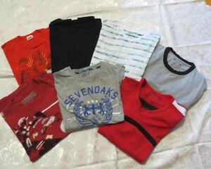Huge lot (over 50) of boy's sz 14-16 summer tops and bottoms