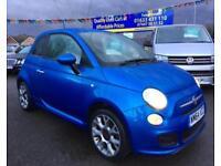 2014 64 FIAT 500 1.2 S 3D 69 BHP