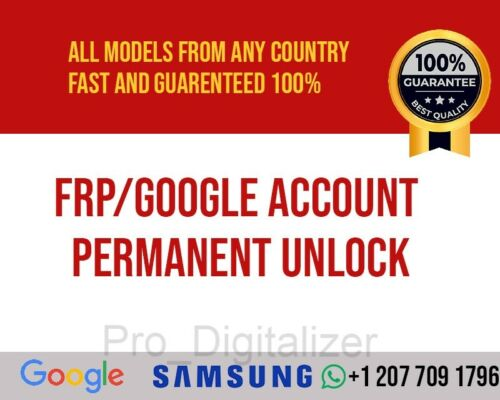 Instant Remote Frp Google Account Removal For All Samsung Models Fast Service