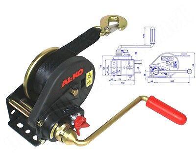 AL-KO / ALKO Seilwinde Handwinde BASIC 450 A 450kg gebremst mit Abrollautomatik