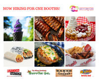HIRING FOR THE CNE FOOD BUILDING! ALL BOOTHS +POSITIONS NEEDED!