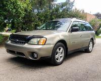 2004 Subaru Outback Premium Familiale **Soyez prêt pour l'hiver!