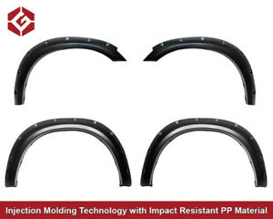 NEW Pocket Style Rivet Fender Flares 2010-2018  Ram 2500/3500