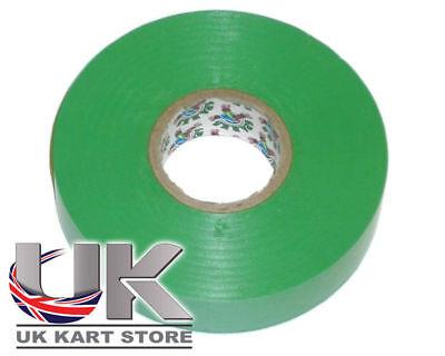 PVC Electrical Tape Green UK KART STORE