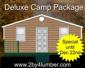 Deluxe Cottage / Camp package m