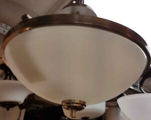 Modern / contemporary  3 light semi flush mount  ceiling light