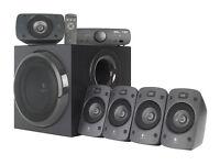 NEW Logitech Z906 500W RMS 5.1 Home Cinema PC PS4 Xbone Gaming Surround Sound Speakers Dolby DTS THX