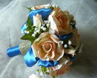 Sale $50.00 Or Best Offer. Wedding Bouquet Flower Set