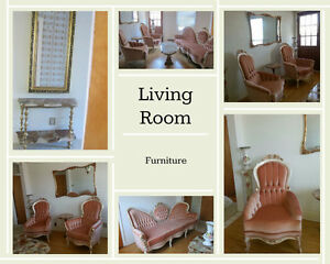 Vintage Living Room Furniture - Mint Condition